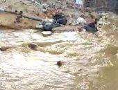 قارئة تشكو غرق شارع رئيسى بمدينة الشروق بسبب كسر ماسورة مياه عمومية