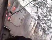قارئ يشارك بفيديو لحريق مصنع كابلات فى باب الشعرية