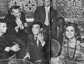 فريد الأطرش يحتفل بفوز الزمالك عام 1960والعندليب يحتفى بنجاح الأهلى 1961