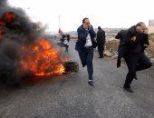 إصابة 26 فلسطينيا فى باب العمود بالقدس فى مواجهات مع قوات الاحتلال