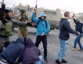 صور.. قوات الاحتلال تدس عناصر متخفية بزى فلسطينى وسط التظاهرات وتعتقل العشرات