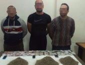 القبض على تشكيل عصابى بالأميرية لاتهامه بالاتجار فى المخدرات