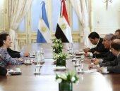 """وزير التجارة يبحث إمداد سوق الأرجنتين بالدواء المصرى الجديد لعلاج """"فيروس سى"""""""