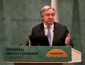 أمين عام الأمم المتحدة: العالم تجنب خطر تصعيد إقليمى فى ليبيا بمؤتمر برلين