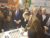 صور.. انطلاق بطولة جولدن كليوباترا للشطرنج