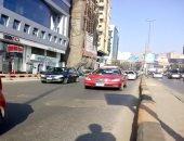 كثافات مرورية بطريق كورنيش النيل المتجه إلى ميدان التحرير