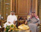 ولى عهد أبوظبى يبحث مع العاهل السعودى سبل دعم وتعزيز العلاقات بين البلدين