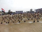 صور.. مدير شرطة النقل يشهد حفل انتهاء التدريب الأساسى للمجندين الجدد
