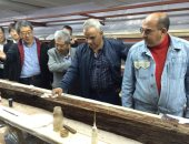 الآثار: رفعنا 860 قطعة خشبية أثرية من مركب خوفو الثانية