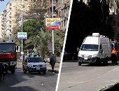 خبراء المفرقعات يتسلمون لجان الانتخابات لإجراء عمليات التمشيط قبل بدء التصويت