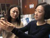 إصابة سيدة صينية بجلطات دموية فى المخ بعد التحديق بالموبايل 20 ساعة