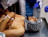 """صور.. جثمان الشهيد الفلسطينى """"محمد أمين عقل"""" فى المشرحة بالضفة الغربية"""