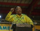 الحزب الحاكم فى جنوب أفريقيا يمهل زوما 48 ساعة للاستقالة