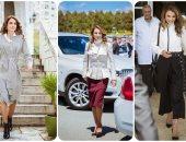 لو بتحبى لبسها.. تعرفى على بيوت الأزياء اللى وراء أناقة الملكة رانيا
