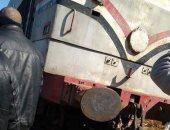 """قطار يدهس """" تروسيكل"""" وتوقف حركة قطارات الصعيد نصف ساعة بمحافظة قنا"""