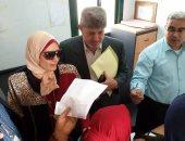 صور.. إجراء الكشف الطبى على 500 مواطن فى قافلة طبية بكفر الشيخ