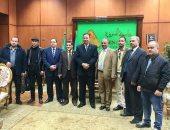 وفد من جامعة المسيلة بالجزائر يزور جامعة المنوفية لبحث أوجه التعاون