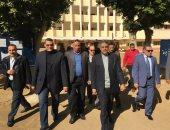 صور..إقبال ضعيف وجولة مدير الأمن ملخص اليوم الأول للانتخابات التكميلية بجرجا