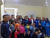 جامعة المنوفية تنظم قافلة عن الثقافة الرياضية للأطفال بشبين الكوم