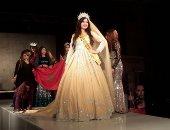تعرف على قيمة أول فستان ارتدته ملكة جمال العرب بعد تتويجها.. والسعر باليورو