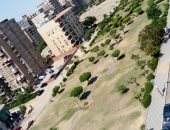 سكان المنطقة التاسعة بمدينة نصر يطالبون ببناء سور للحديقة العامة