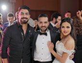 صور.. نجوم ستار أكاديمى يحضرون حفل زفاف معتز وثمر