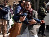 ننشر أول صور لهجوم انتحارى على كنيسة بباكستان أدى إلى مقتل وإصابة 20 شخصا