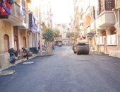 أهالى حارة المسلم يطالبون برصف طريق طارق بن زياد بحلوان
