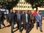 صور.. مدير أمن سوهاج يتفقد لجان الانتخابات التكميلية بجرجا فى سوهاج
