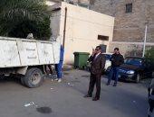 محافظة الاسكندرية: التخلص من المخلفات الصلبة بمستشفي القباري العام