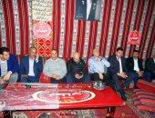 حفل عشاء من مجلس المصرى للاعبين والتوأم بعد ثلاثية النصر