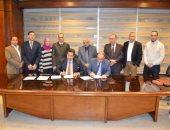 توقيع عقد الخدمات الاستشارية لـ القطار المكهرب السلام - العاصمة الإدارية