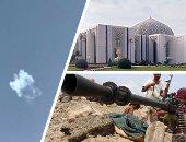 """فيديو.. التحالف العربى يعترض صاروخا باليستيا أطلقته ميلشيا الحوثى باتجاه الرياض.. الصاروخ """"2 اتش"""" يستهدف اجتماعا موسعا لمناقشة الموازنة العامة فى قصر اليمامة.. والمملكة تؤكد: الصاروخ إيرانى حوثى ولا إصابات"""