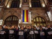 صور.. قضاة رومانيا يتظاهرون احتجاجا على تغييرات بالنظام القانونى بالبلاد