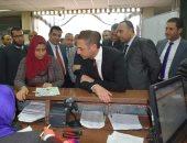 رئيس المصرية للاتصالات يتفقد خدمة عملاء الزقازيق ويلتقى العاملين