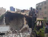 إزالة التعديات على أراضى أملاك الدولة غرب الإسكندرية