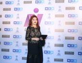 تكريم النجمة نبيلة عبيد ومحمود حميدة بكلية إعلام جامعة بنى سويف
