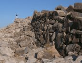 علماء من بيرو يكتشفون رسما عملاقا لقط على تل نازكا