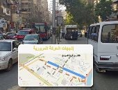 المرور يعزز من انتشار الخدمات بمحيط أعمال إنشاء محطتى مترو شارع السودان