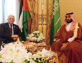 ولى عهد السعودية يبحث مع أبو مازن مستجدات الأوضاع فى فلسطين (تحديث)