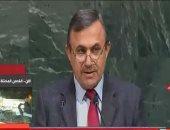 مندوب سوريا لدى الأمم المتحدة: لن نتراجع عن دعم فلسطين رغم ما نعانيه من إرهاب