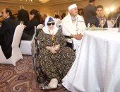 الحاجة زينب تدعم السيسي فى مؤتمر الاتحاد العالمى للمصريين بالخارج