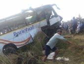 مصرع 11 شخصا فى تصادم حافلة بشاحنة فى إقليم السند الباكستانى