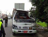 إصابة 6 عمال فى انقلاب سيارة ربع نقل بالشرقية