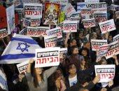 صور.. تجدد المظاهرات فى إسرائيل للمطالبة باستقالة نتنياهو على خلفية الفساد