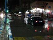 أمطار غزيرة على شمال سيناء وإغلاق ميناء العريش