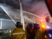 الأمن الأردنى ينقذ عائلة مصرية بعد حريق منزلها بعمان
