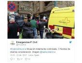 3 مصابين فى مقاطعة مورسيا الإسبانية بعد انفجار اسطوانة غاز