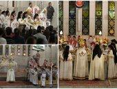 الكنيسة الكاثوليكية تحتفل بقداس عيد الميلاد بحضور مندوب الرئيس ووزيرة الهجرة