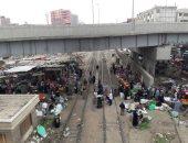 مصرع طالب أسفل عجلات قطار الصعيد جنوبى بنى سويف